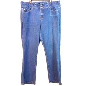 26 Torrid Lightweight Denim Straight Leg Jeans